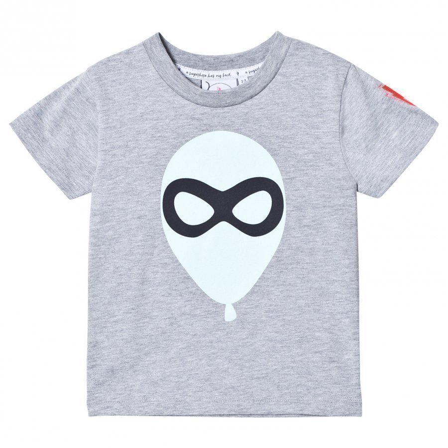 Scamp & Dude Super Marl T-Shirt Balloon Man T-Paita