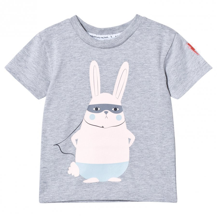 Scamp & Dude Super Marl T-Shirt Super Bunny T-Paita