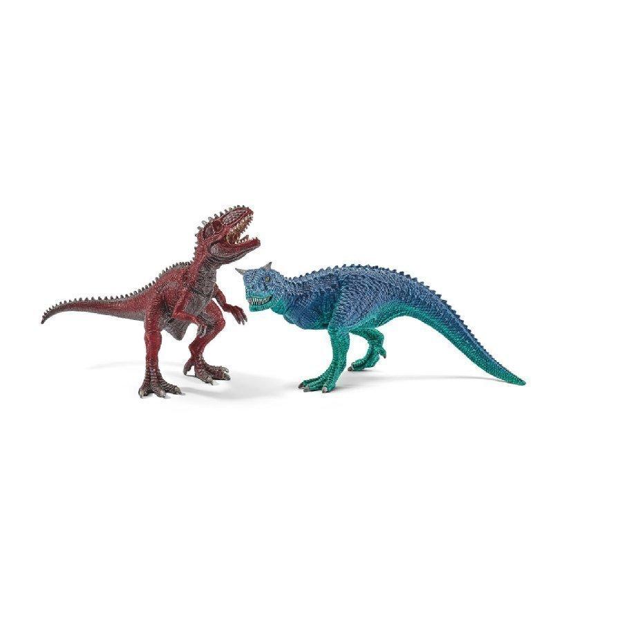 Schleich Carnotaurus Ja Giganotosaurus Pieni 42215