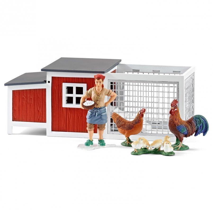 Schleich Chicken Coop Leikkisetti