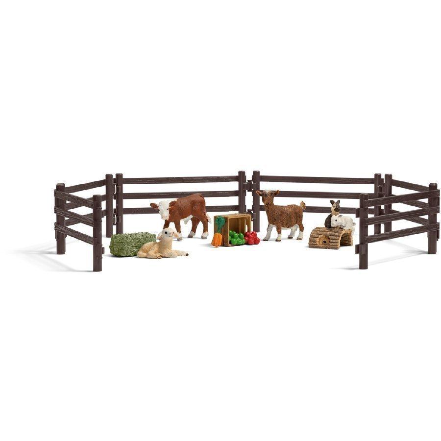 Schleich Farm Life Leikkisetti Kotieläinpuisto 21052