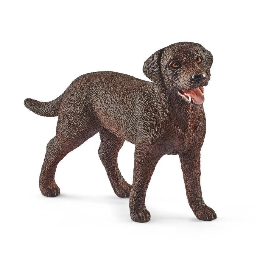 Schleich Labradorinnoutaja Naaras Tummanruskea 13834