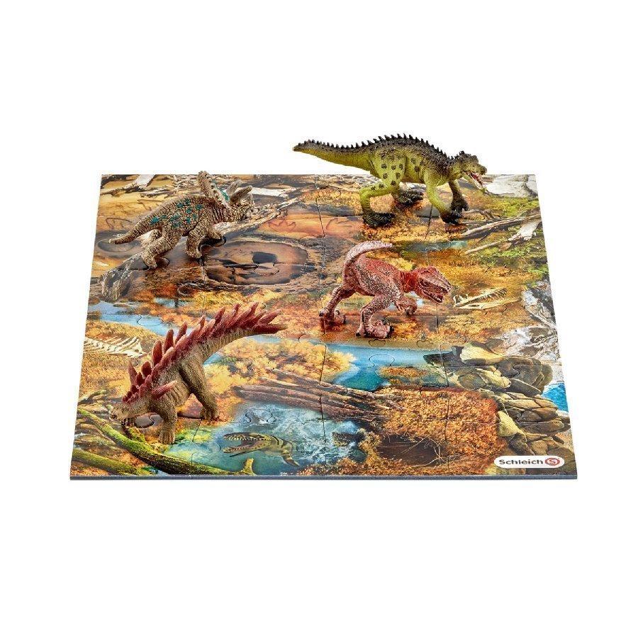 Schleich Minidinosaurukset + Palapeli Suo 42331