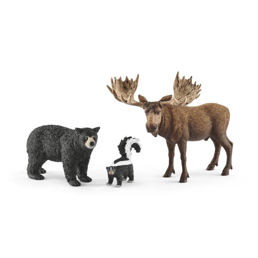 Schleich Pohjoisamerikan Metsänasukit 41456