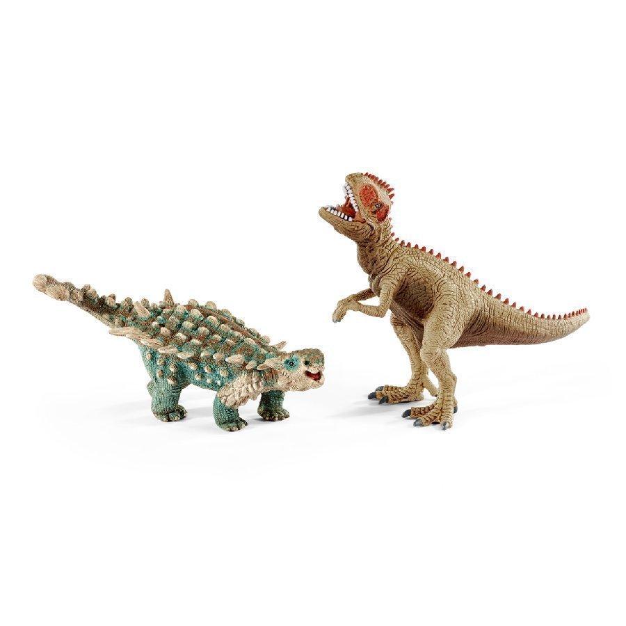 Schleich Saichania Ja Giganotosaurus Pieni 41426