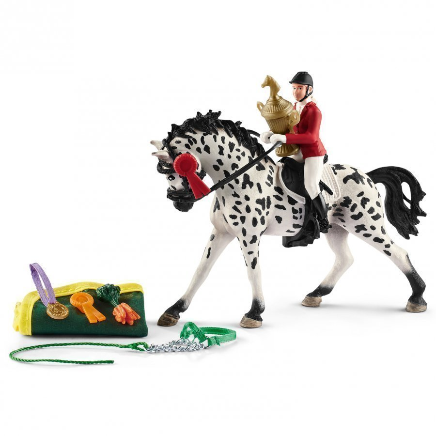 Schleich Showjumping Tournament With Knabstrupper Leikkisetti