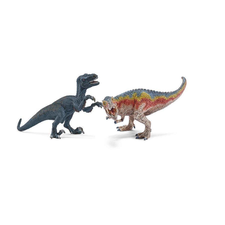 Schleich T Rex Ja Velociraptor Pieni 42216