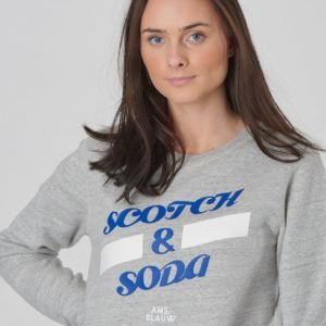Scotch & Soda Basic Scotch & Soda Sweat Neule Harmaa