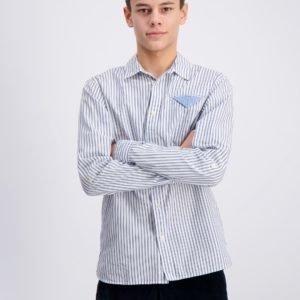 Scotch & Soda Blue Series Long Sleeve Shirt Kauluspaita Kirjava