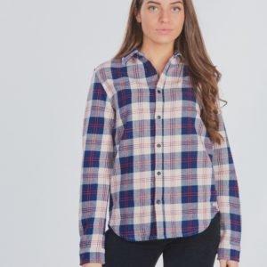 Scotch & Soda Easy Shirt In Flannel Kauluspaita Kirjava