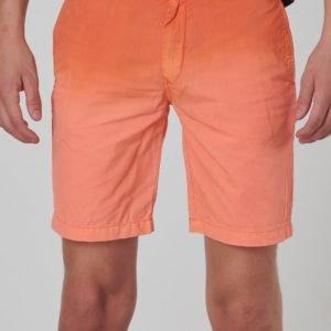 Scotch & Soda Lightweight Chino Shorts With Washing Shortsit Oranssi