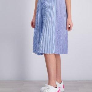 Scotch & Soda Midi Length Pleated Skirt Hame Kirjava