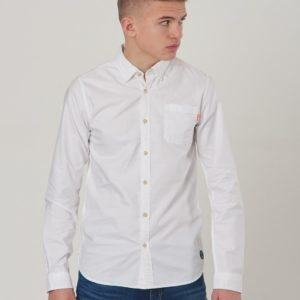 Scotch & Soda Slim Fit Oxford Shirt Kauluspaita Valkoinen