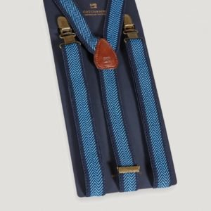 Scotch & Soda Suspender Henkselit Sininen