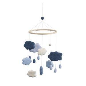 Sebra Clouds Mobile Royal Blue