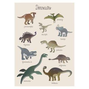 Sebra Juliste Dino