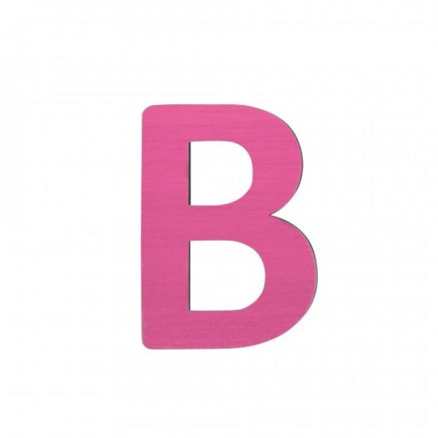 Sebra Kirjain B Pinkki