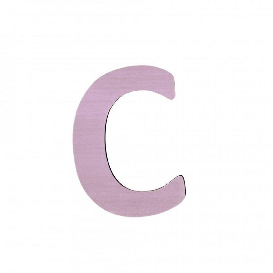 Sebra Kirjain C Vaaleanpunainen
