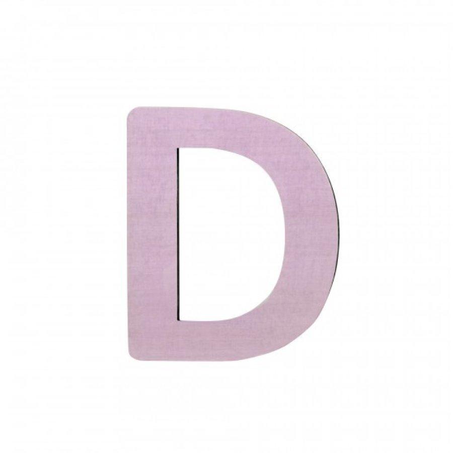 Sebra Kirjain D Vaaleanpunainen