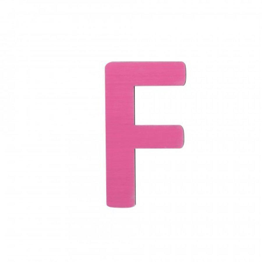 Sebra Kirjain F Pinkki