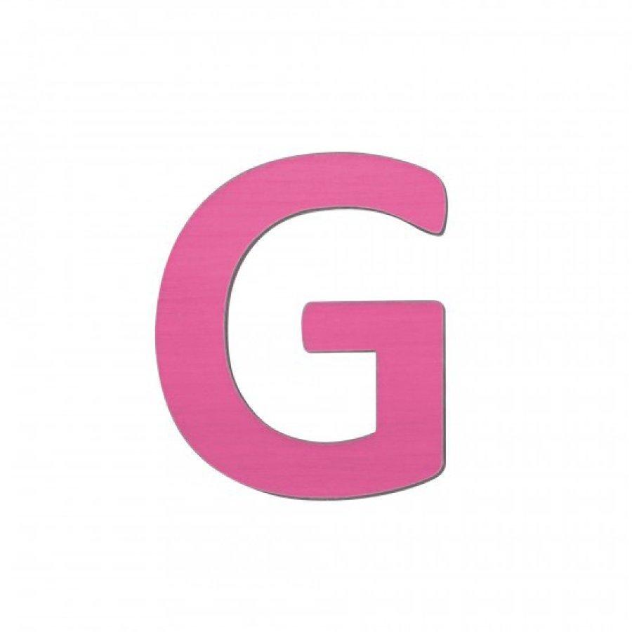 Sebra Kirjain G Pinkki