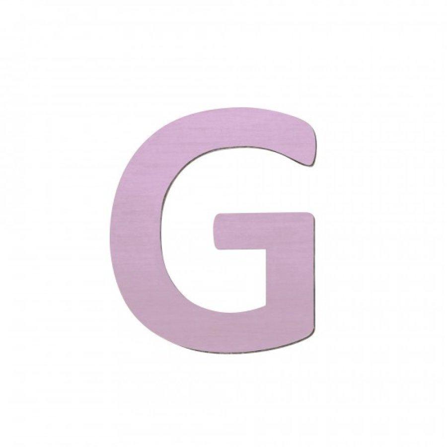 Sebra Kirjain G Vaaleanpunainen