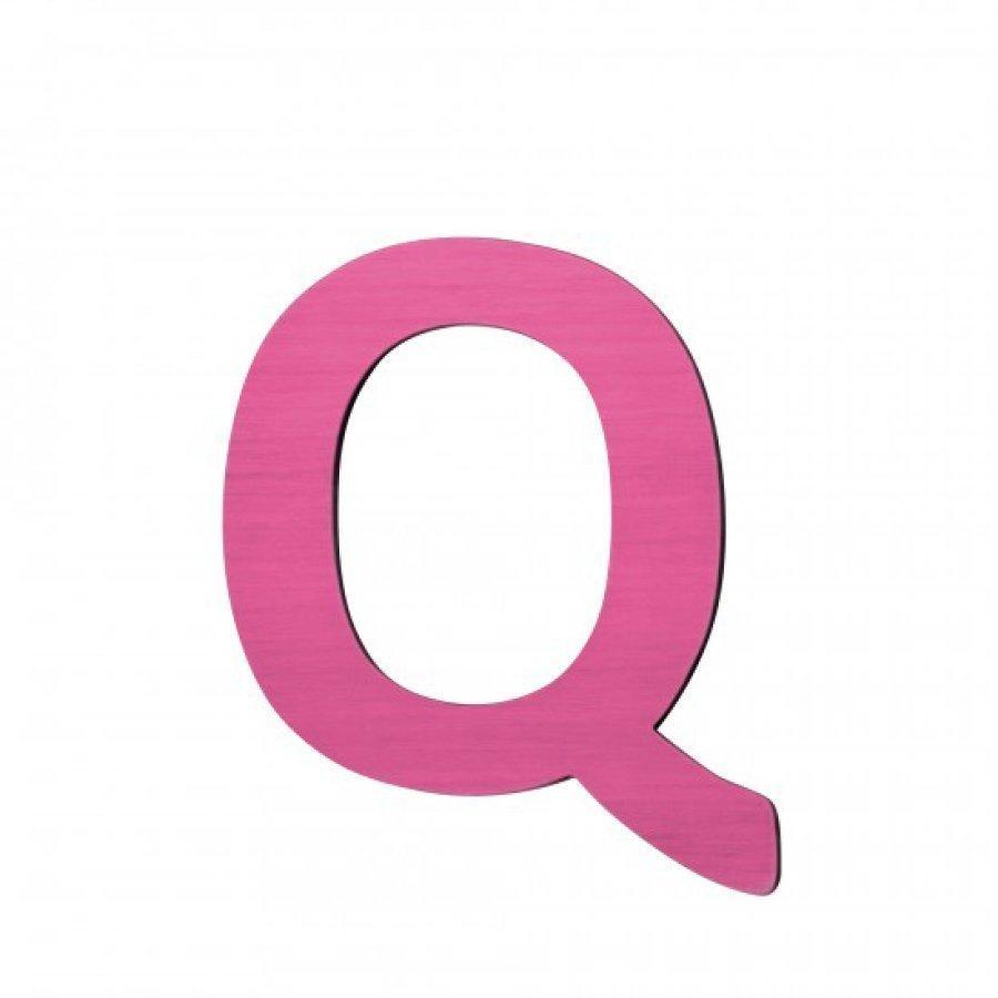 Sebra Kirjain Q Pinkki