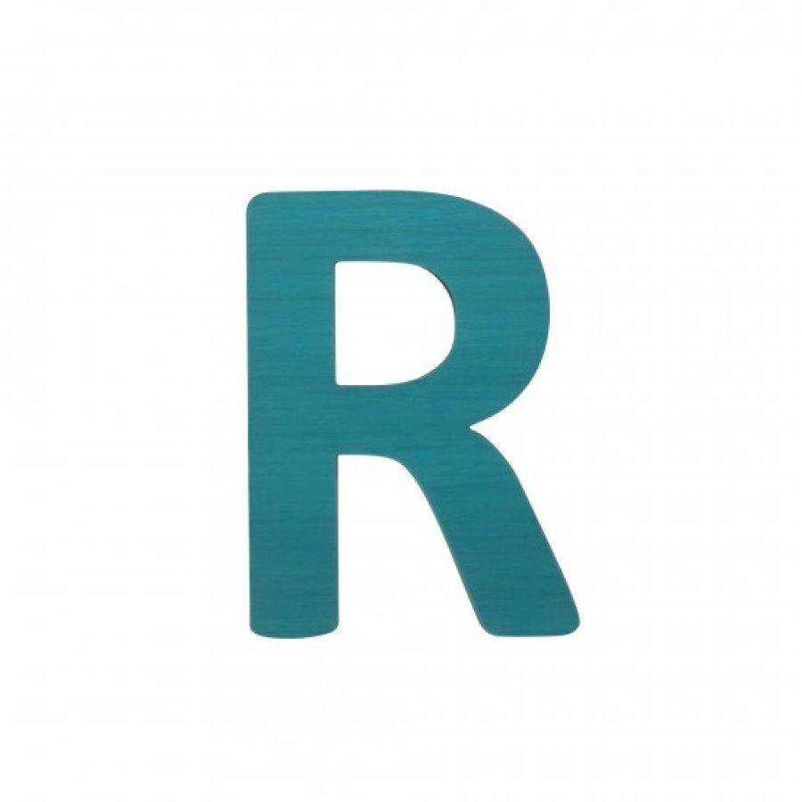 Sebra Kirjain R Petroli