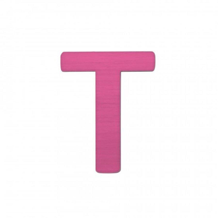 Sebra Kirjain T Pinkki