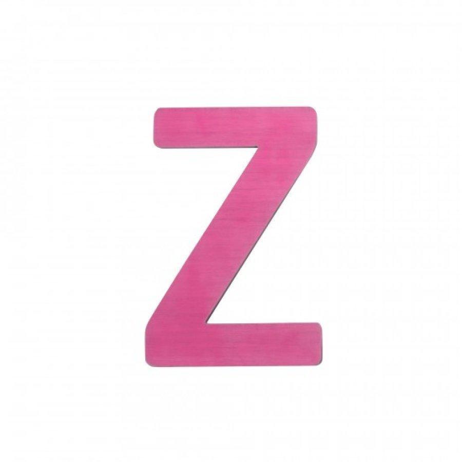 Sebra Kirjain Z Pinkki
