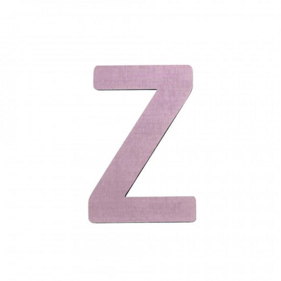 Sebra Kirjain Z Vaaleanpunainen
