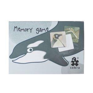 Sebra Memory Muistipeli Dino / Arktiset Eläimet