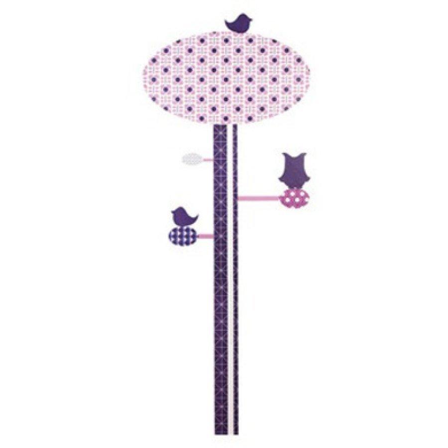 Sebra Seinätarrat Pituusmitta 0–130 Cm Violetti