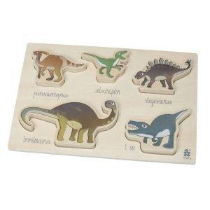 Sebra Wooden Palapeli Dino
