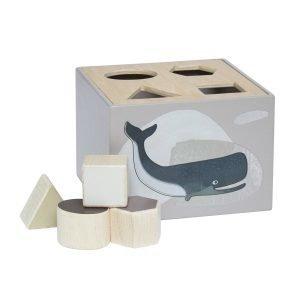 Sebra Wooden Palikkalaatikko Arktiset Eläimet