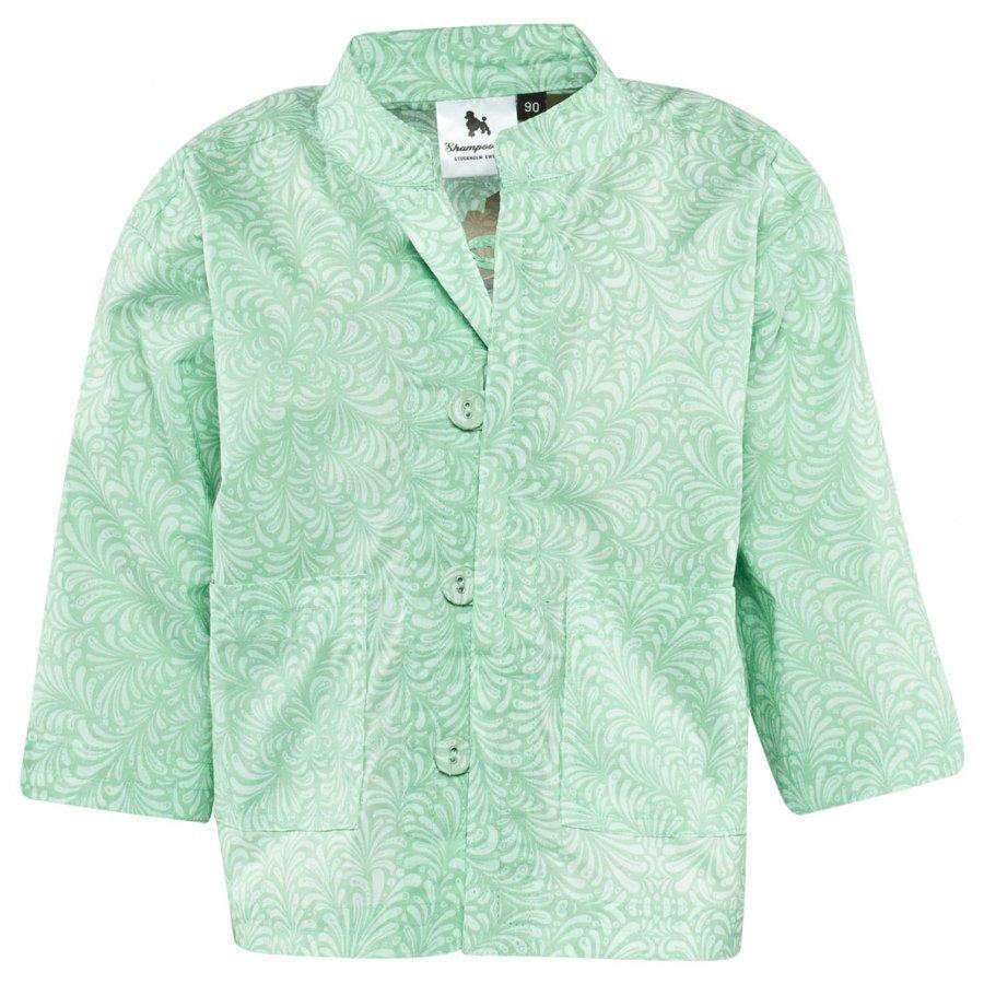 Shampoodle Holiday Shirt Jacket Misty Jade Talvitakki