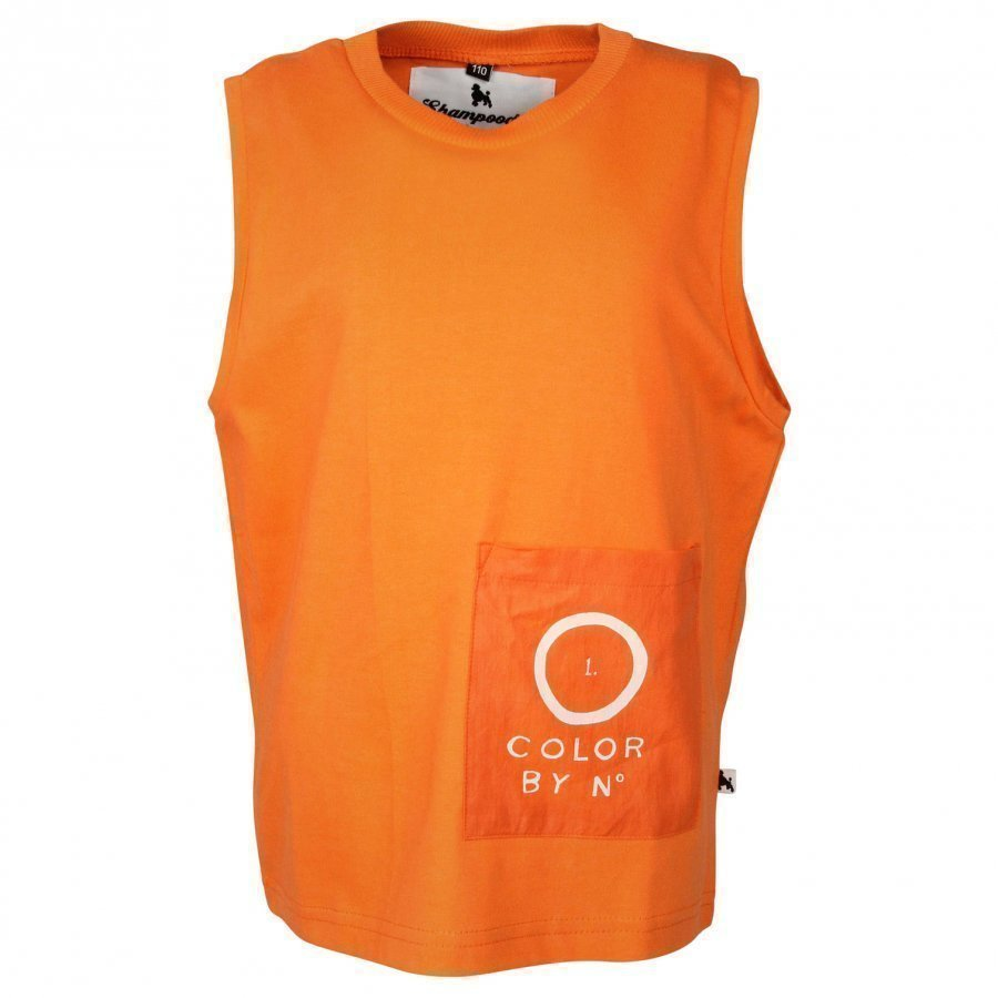 Shampoodle Pocket Tank Orange Toppi