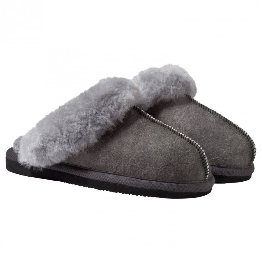 Shepherd Åre Slippers Antique/Grey Aamutossut
