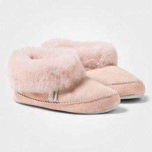 Shepherd Piteå Slippers Pink Korkeavartiset Tossut