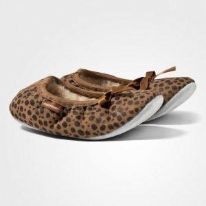Shepherd Varberg Slippers Leopard Sisätossut