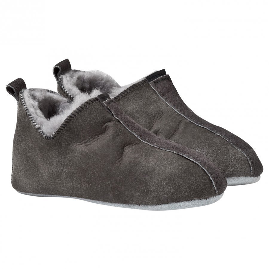 Shepherd Viared Slippers Antique/Grey Korkeavartiset Tossut