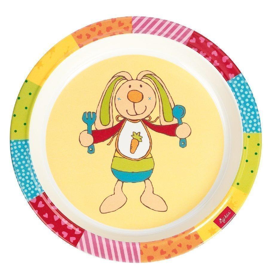 Sigikid Lautanen Melamiini Rainbow Rabbit