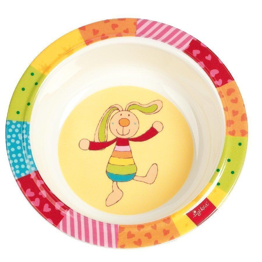 Sigikid Syvä Lautanen Melamiini Rainbow Rabbit