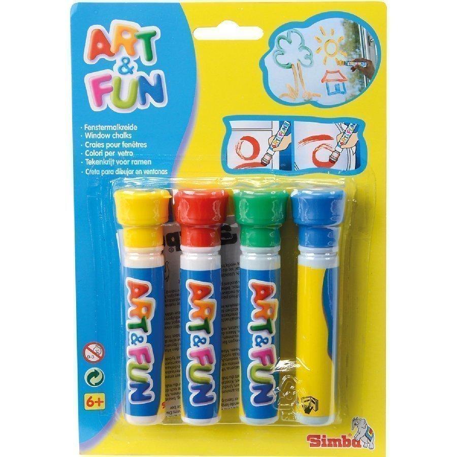 Simba Art And Fun Ikkunavärit
