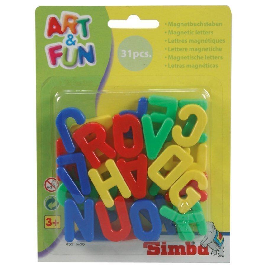 Simba Art & Fun Isot Magneettikirjaimet