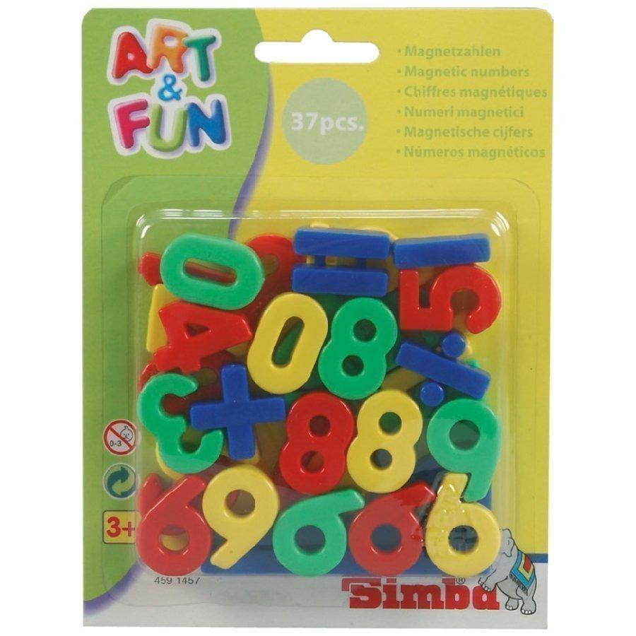 Simba Art & Fun Magneettinumerot Ja Merkkejä