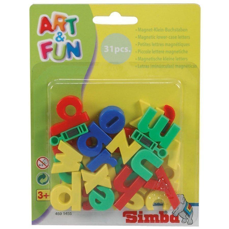 Simba Art & Fun Pienet Magneettikirjaimet
