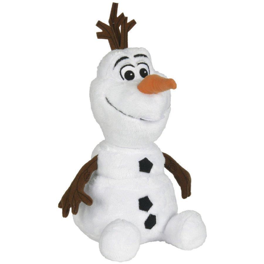 Simba Disney Frozen Huurteinen Seikkailu Istuva Olaf Lumiukko 25 Cm