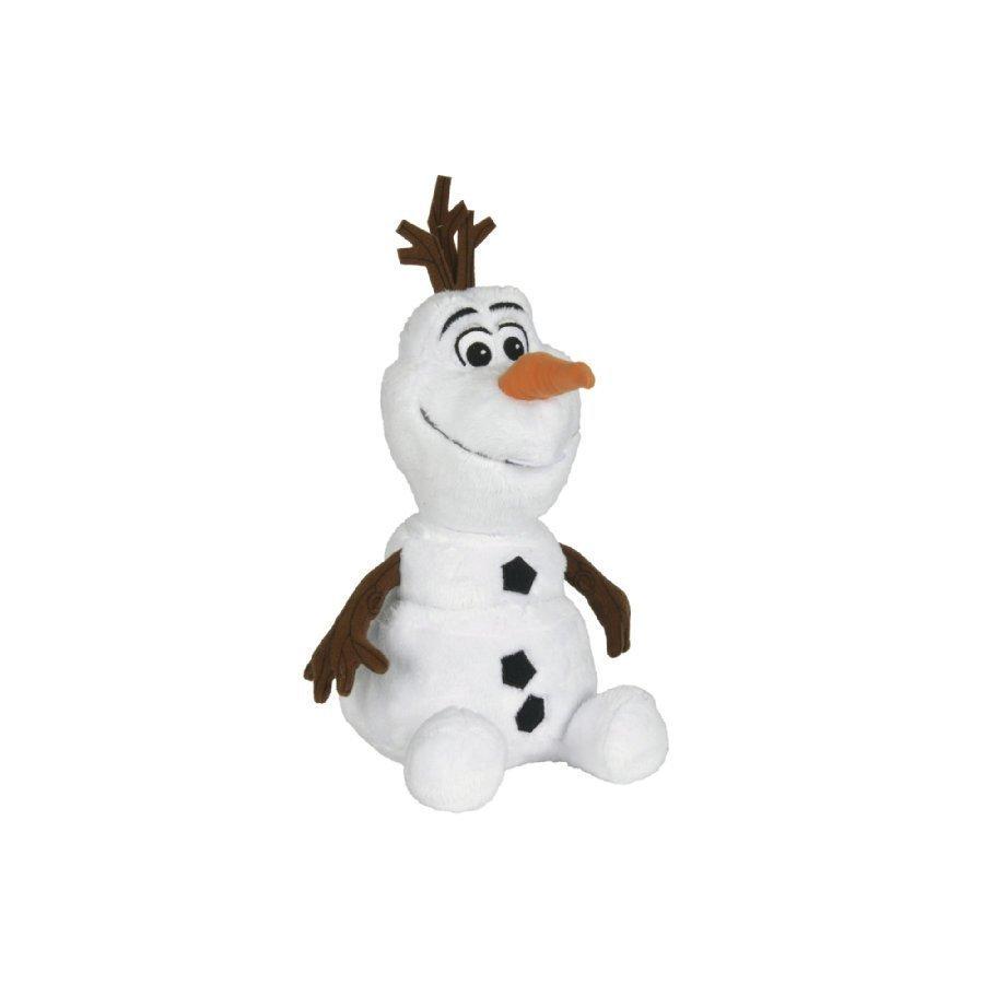 Simba Pehmolelu Disney Frozen Istuva Olaf Lumiukko 45 Cm
