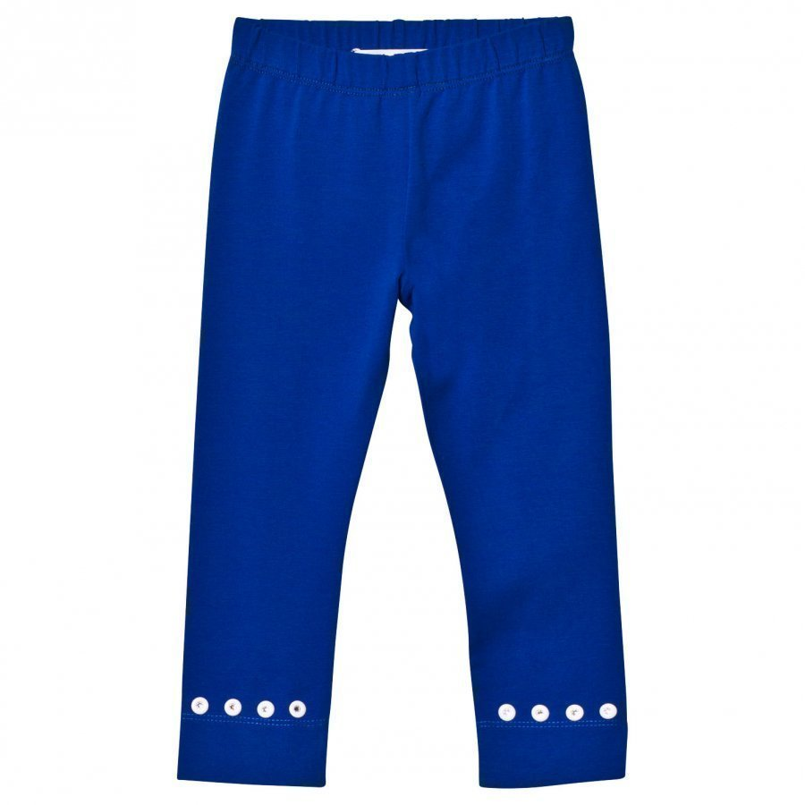 Simonetta Leggings With Diamante Detail Blue Legginsit